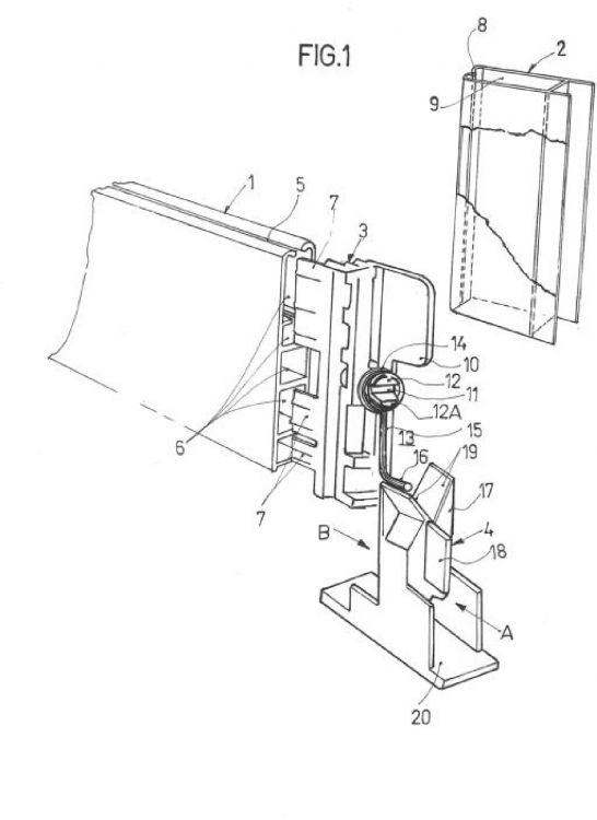 Mecanismo de arrastre tipo persiana para estores - Mecanismos de estores ...