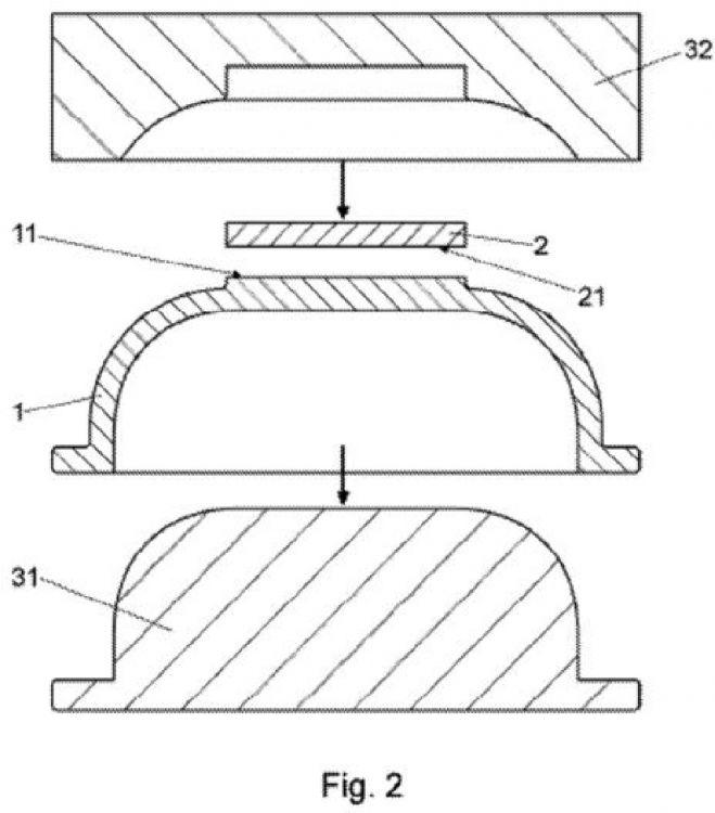 Procedimiento de fabricacion de un utensilio de cocina for Procedimiento de cocina