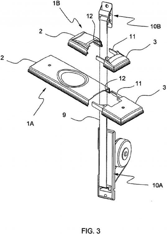 Sistema de poleas para persianas
