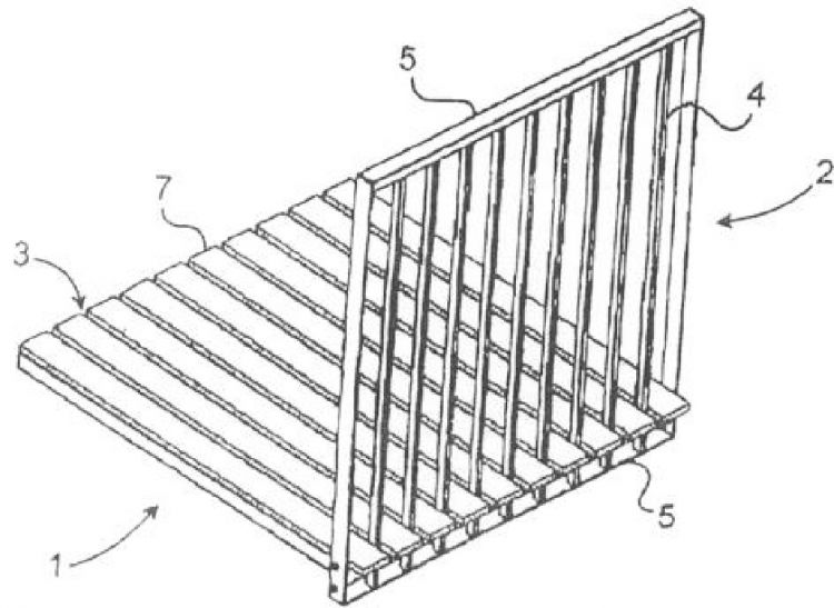 Barrera escamoteable para piscina que proporciona un for Barrera piscina