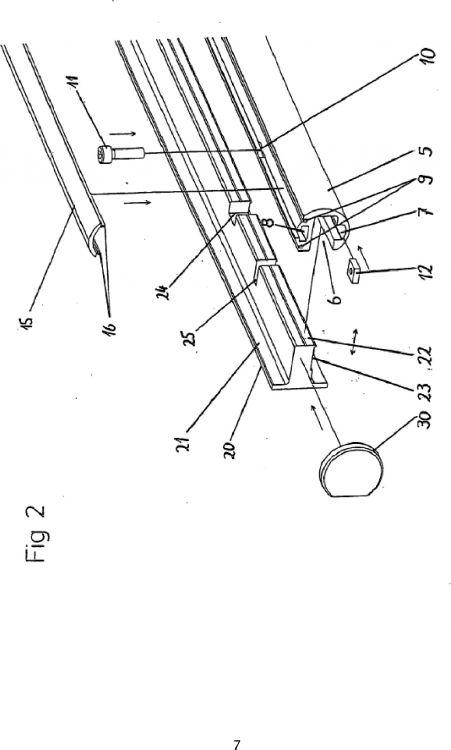 Dispositivo del carril de rodamiento para una hoja - Carril para puerta corredera ...