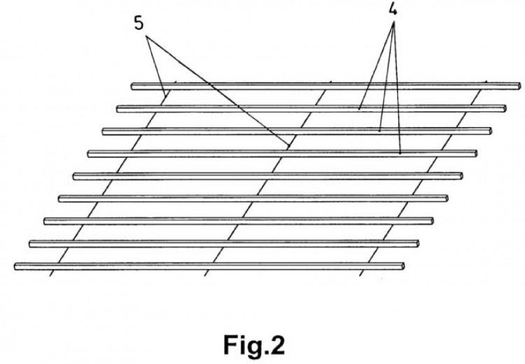 conjunto de rastreles para tejados