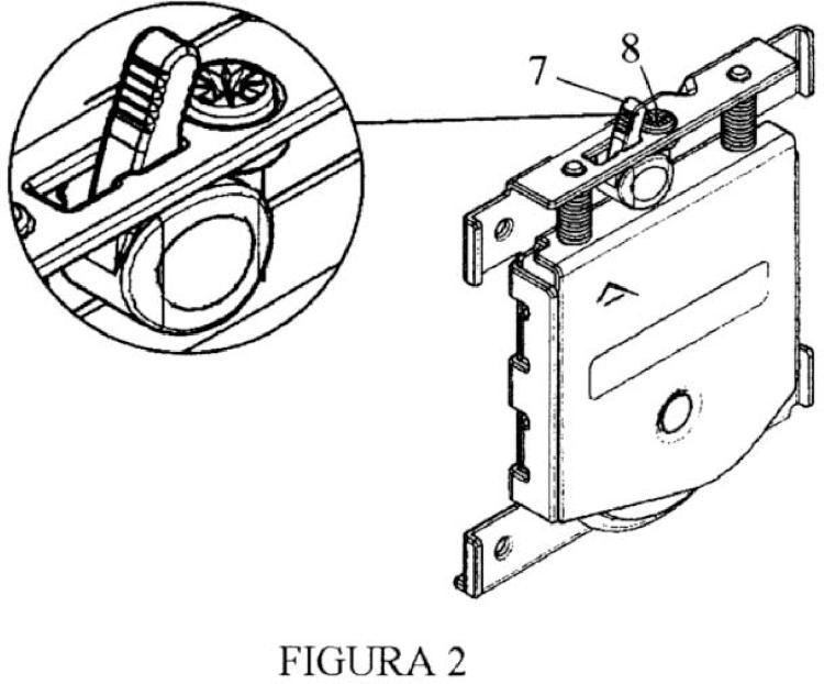 Rueda inferior para el montaje de puertas correderas - Montaje de puertas ...