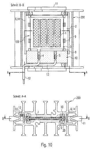 Dispositivo de calefacción.
