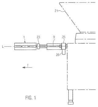 Dispositivo y procedimiento para la división de sartas de embutidos rellenas cuidando el envoltorio.