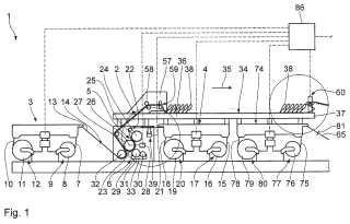Instalación de cartón ondulado y procedimiento para la fabricación de cartón ondulado.