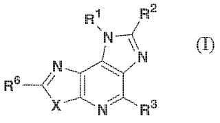 Compuestos tricíclicos basados en tiazolo[4,5-b]piridina imidazo-fusionada y composiciones farmacéuticas que los comprenden.