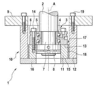 Unidad de compensación de la longitud, en particular para una máquina herramienta.