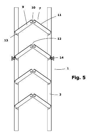 Escalera plegable 30 29 de marzo de 2012 for Escaleras metalicas planos
