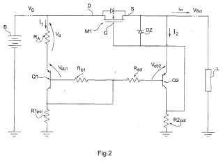 Un circuito para la protección contra la inversión de polaridad en la alimentación de un circuito eléctrico.