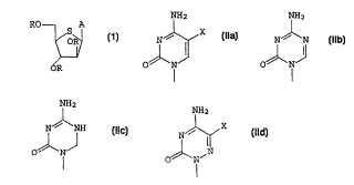 Utilización de compuestos de tioarabinofuranosilo.