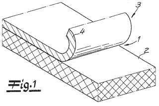 Película de coextrusión y procedimiento para fabricar un material compuesto.