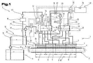 Sistema de sumunistro de tinta y procedimiento para limpiar un sistema de suministro de tinta de este tipo.