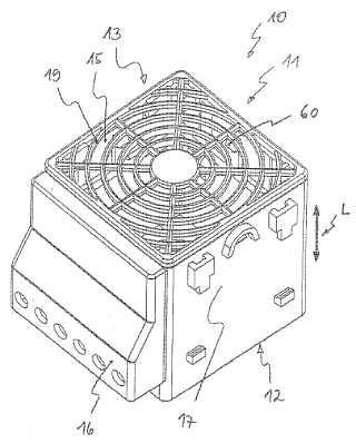 Ventilador calefactor.