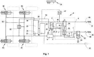 Válvula de freno de remolque para vehículos remolque con regulación electrónica de frenado y seguridad aumentada del remolque aparcado.
