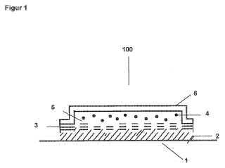 Sistema de depósito con una membrana cerrada.