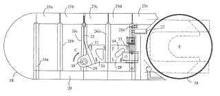 Máquina de colada entre cintas sin fin de longitud de contacto ajustable con desbaste plano de metal colado.