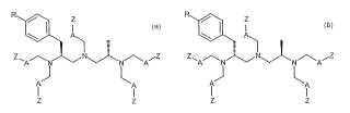 Conjugados con biomoléculas de los (4S, 8S)- y (4R,8R)- ácidos 4-p-bencil-8-metil-3,6,9-triaza-3N,6N,9N-tricarboximetil-1, 11-undecanodioicos, puros en cuanto a enantiómeros, procedimientos para su preparación y su utilización para la preparación de agentes farmacéuticos.