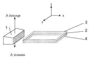Dispositivo y procedimiento para la medición de la elasticidad de un órgano humano o animal y el establecimiento de una representación de esta elasticidad en dos o tres dimensiones.