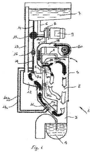 Método y dispositivos para la eliminación del vapor en máquinas automáticas de lavado y desinfección de cuñas y artículos sanitarios.