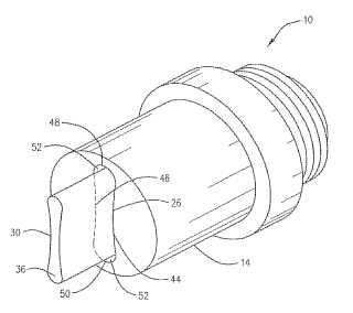 Boquilla de chorro mejorada para uso en un micronizador de molino de chorro.