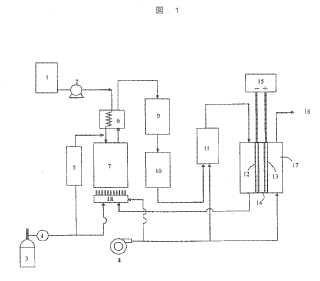 Sistema de desulfuración para combustible de hidrocarburo.