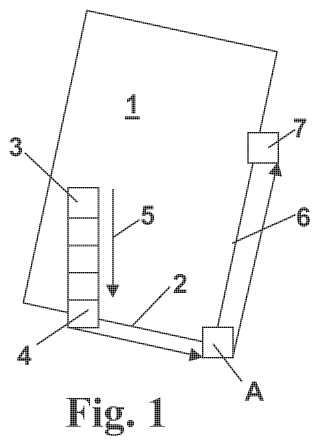 Procedimiento y dispositivo para el corte mecánico de piezas en placa.