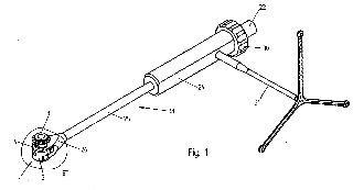 Implante para insertar entre cuerpos vertebrales, así como instrumento quirúrgico para manipular el implante.