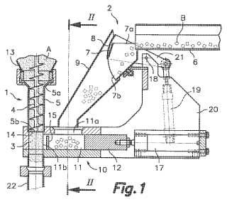 Mezclador-dosificador de dos productos capaces de fluir, de diferente morfología, aplicable a máquina envasadora.