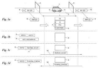Procedimiento para detectar el paso de vehículos.