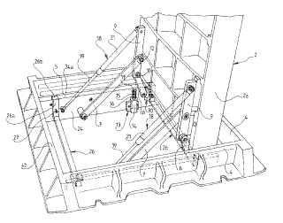 Dispositivo de articulación de una tapa o cubierta en un marco, en particular de un registro en calzada.