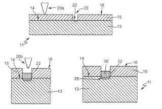 Procedimiento para el tratamiento de células solares con contactos de cavidad escritos a láser.