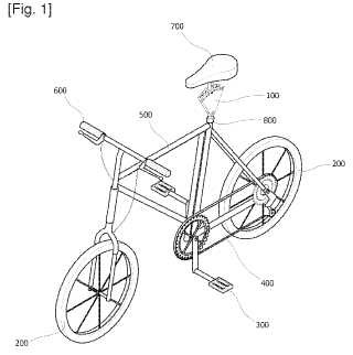 Dispositivo de ajuste de ángulo para un sillín de bicicleta.