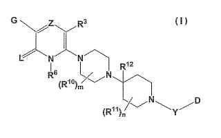 Compuestos heterocíclicos sustituidos con actividad antagonista de CXCR3.
