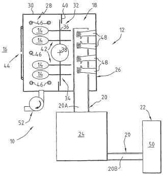 Dispositivo de alimentación de tapones de una máquina de taponado de recipientes.