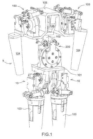 Robot humanoide que implementa una articulación esférica con accionadores acoplados.