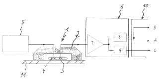Procedimiento y sistema para el ensayo electromagnético no destructivo por ultrasonidos de una pieza metálica.