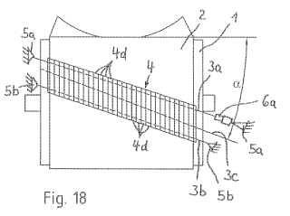 Dispositivo para desprender material de una cinta transportadora de un transportador por cinta.