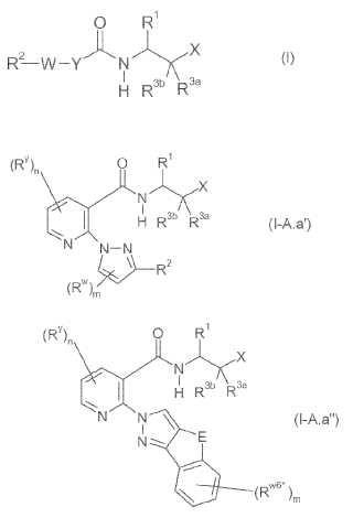 Compuestos de carboxamida y su uso como inhibidores de calpaína.