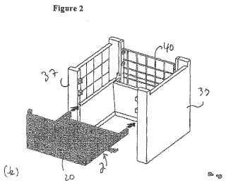 Sistema de mueble modular.
