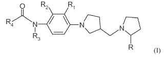 N-fenil-pirrolidinilmetilpirrolidin amidas sustituidas y uso terapéutico de las mismas.