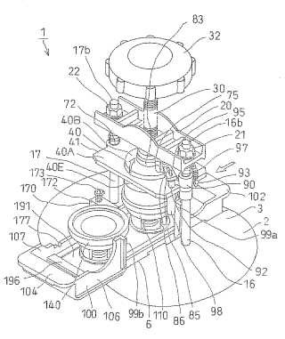Método de montaje de una forma de prensa en un dispositivo de fabricación de botones.