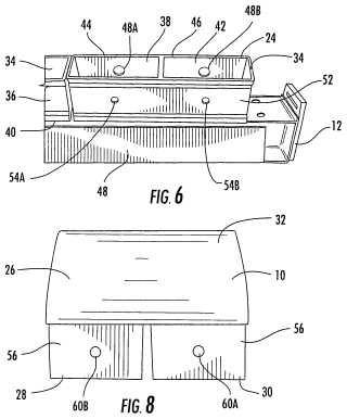 Disposición de montaje de pasador de autobloqueo para cuchillas rascadoras limpiadoras de cinta transportadora.