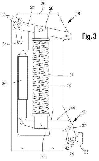Dispositivo para el control del movimiento de un soporte de una máquina agrícola que se desarrolla perpendicular a la dirección de la marcha.