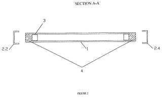Perfil de protección para doble acristalamiento.