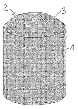 Tapón para un recipiente.