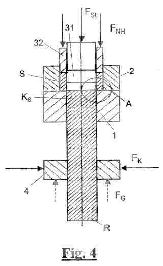Procedimiento para producir una pieza moldeada provista de un orificio pasante y dispositivo para realizar dicho procedimiento.