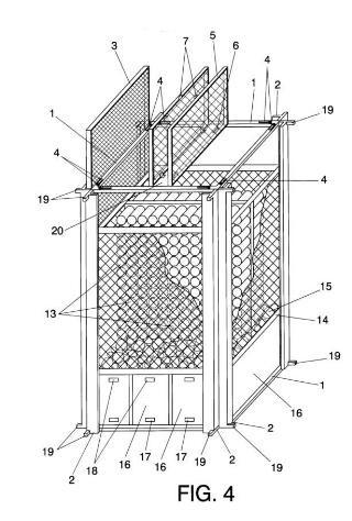 Estructura de jaula modular para engorde de pulpos for Jaulas flotantes para piscicultura