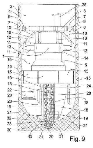 Método para realizar un pozo vertical y una máquina de excavación de pozos.