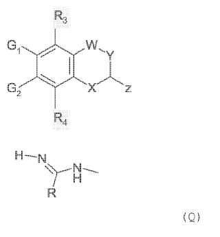 Amidinas heterocíclicas antiinflamatorias y analgésicas novedosas que inhiben la producción de óxido de nitrógeno (NO).